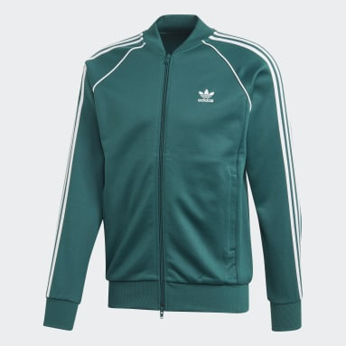 Track jacket SST Verde Uomo Originals