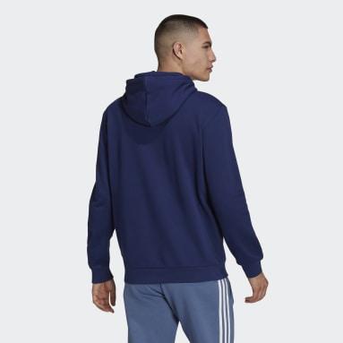 Men's Originals Blue Adicolor Classics Trefoil Hoodie