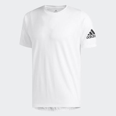 Erkek Yoga Beyaz FreeLift Sport Ultimate Solid Tişört