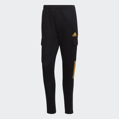 Men's Soccer Black Tiro Cargo Pants