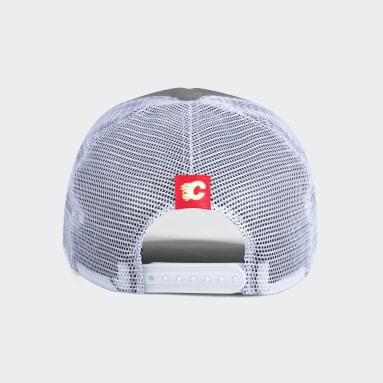 Men Sportswear Multi Flames Foam Trucker Cap