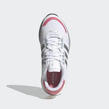 Sapatos ZX 1K Boost Branco Mulher Originals