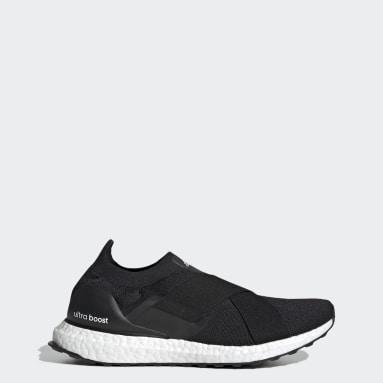 Women Running Black Ultraboost Slip-On DNA Shoes