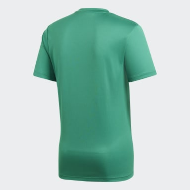 Men Gym & Training Green Core 18 Training Jersey