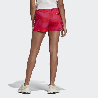 Shorts Marimekko Rojo Mujer Originals