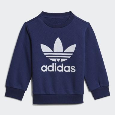 Kids Originals Blue Crew Sweatshirt Set