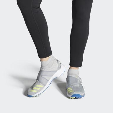 Women Golf Grey ZG21 Motion Primegreen BOA Mid Golf Shoes