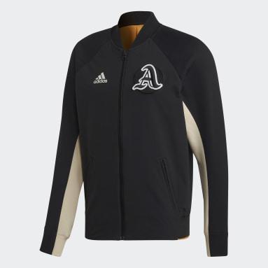 ผู้ชาย Sportswear สีดำ เสื้อแจ็คเก็ต VRCT