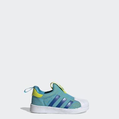 Toddlers 1-4 Years Originals Turquoise Superstar 360 Shoes