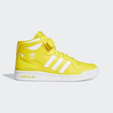 Men's Originals Yellow Forum Mid Shoes
