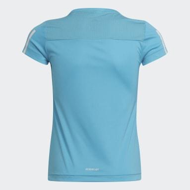 Girls Gym & Training Turquoise Equipment T-Shirt