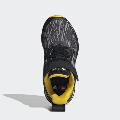 Scarpe adidas FortaRun x LEGO® Elastic Lace Top Strap Nero Bambini Running