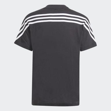 T-shirt Future Icons 3-Stripes Noir Garçons Sportswear