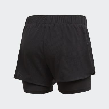 Shorts M10 Negro Mujer Running