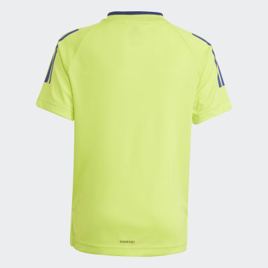 Youth 8-16 Years Gym & Training Yellow AEROREADY Messi Football-Inspired Iconic Jersey