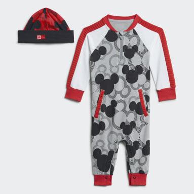 Kinder Fitness & Training Disney Mickey Mouse Einteiler Grau