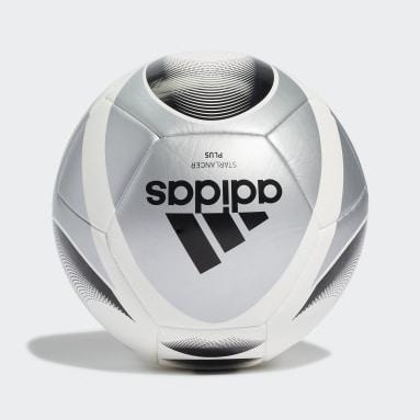 Men Football Silver Starlancer Plus Ball