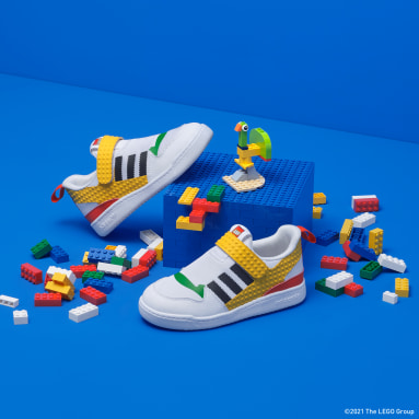 Çocuklar Originals Beyaz adidas Forum 360 x LEGO® Ayakkabı