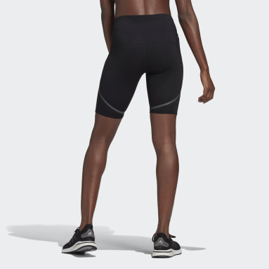 Women Cycling Black How We Do 1/2 Tights