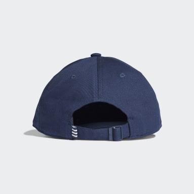 Boné Trefoil Baseball (UNISSEX) Azul Originals