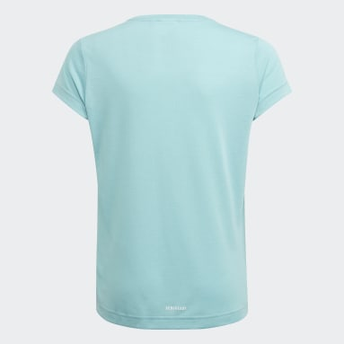 Youth 8-16 Years Gym & Training Green AEROREADY Up2Move Cotton Touch Training Slim Logo T-Shirt