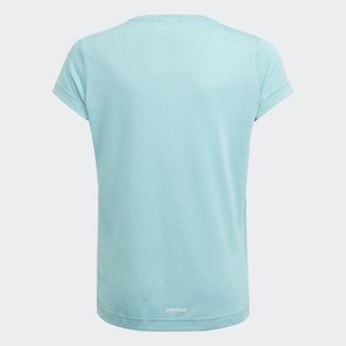 T-shirt AEROREADY Up2Move Cotton Touch Training Slim Logo Verde Ragazza Fitness & Training