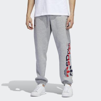 Pantalon de survêtement Logo Play Gris Hommes Originals