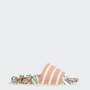 ผู้หญิง Originals สีชมพู รองเท้าแตะ Adilette