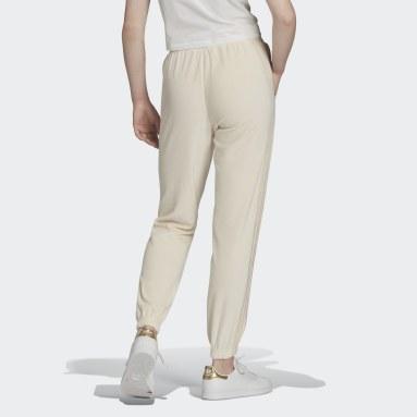 Women Originals White Slim Jogger Pants