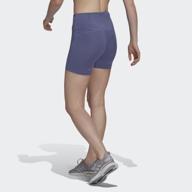 Women HIIT Purple Own the Run Short Running Tights