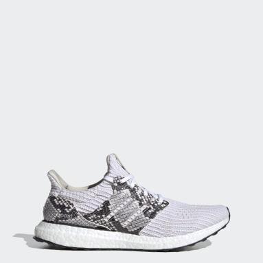 Running Grey Ultraboost DNA Python Shoes