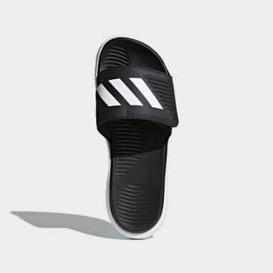 Men's Essentials White Alphabounce Basketball Slides