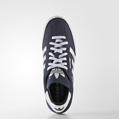Sapatos Camurça Samba Super Azul Originals