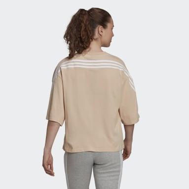 Camiseta adidas Sportswear Future Icons 3 bandas Rosa Mujer Sportswear