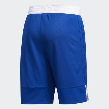 Heren Basketbal blauw 3G Speed Reversible Short