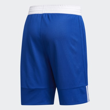Short 3G Speed Reversible Bleu Hommes Basketball