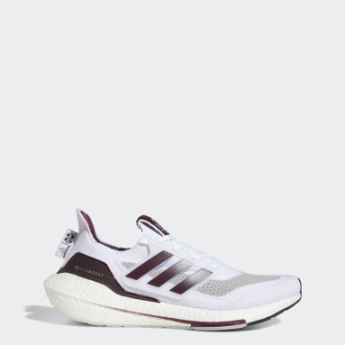 Running White Mississippi State Ultraboost 21 Shoes