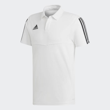 Tiro 19 Cotton Poloskjorte Hvit