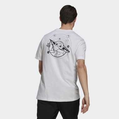 adidas x Star Wars: The Mandalorian The Child Graphic Tee Bialy