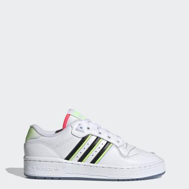 Women Originals White Rivalry Low Shoes