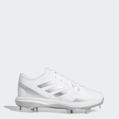 Women's Softball White PureHustle 2.0 Cleats