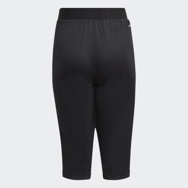 Pantalon Tiro21 3/4 Noir Enfants Football