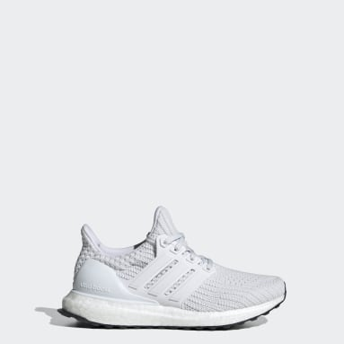 Youth Running White Ultraboost DNA 4.0 Shoes