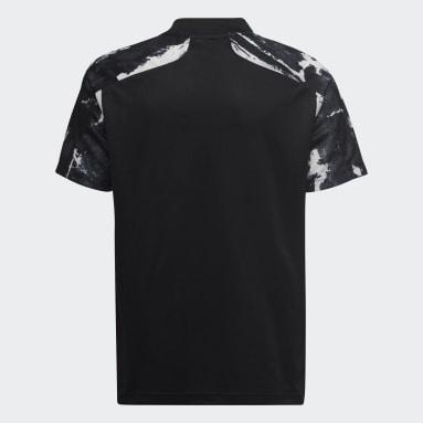Děti Fotbal černá Třetí dres Olympique Lyonnais 21/22