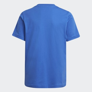Youth Soccer Blue Real Madrid Tee
