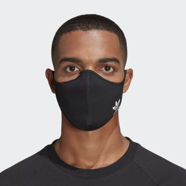 Sport Inspired Multicolor Face Covers 3-Pack M/L