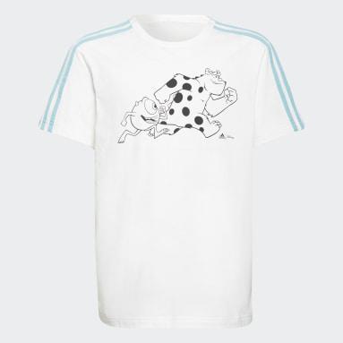 Boys Lifestyle White adidas x Disney Pixar Monsters, Inc. Tee