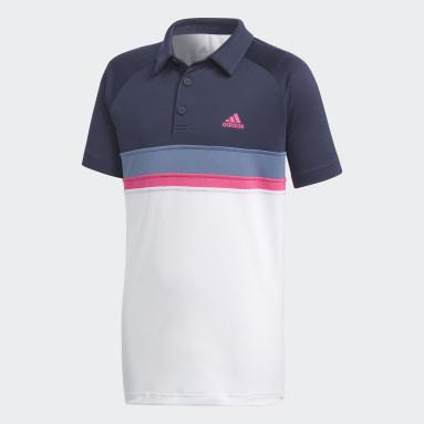 Polo Colorblock Club Azul Niño Tennis