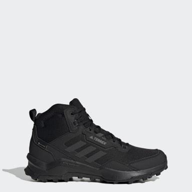Zapatillas de Senderismo Terrex AX4 GORE-TEX Corte Medio Negro Hombre TERREX