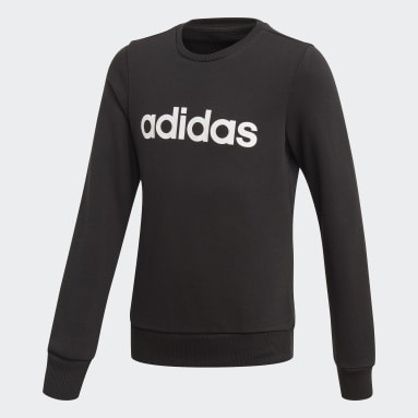 Linear Sweatshirt Czerń